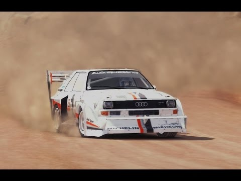 Dirt Rally: Audi S1 Quattro Pikes Peak (replay and onboard)