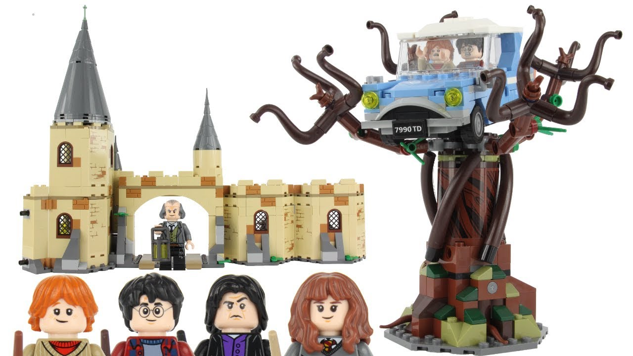 LEGO Harry Potter and The Chamber of Secrets Hogwarts Whomping Willow 75953 Magi