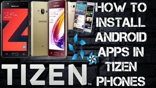 how to install android apps on z2 z3 z4