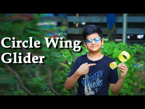 DIY Circle Wing Glider | Make The Best Paper Wing Glider | Fundiary