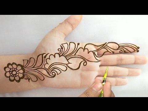 simple beautiful mehndi designs for beginners