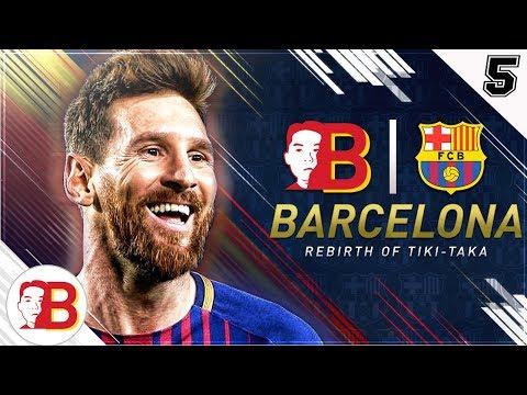 """BLIND TRANSFER? NEVER DONE BEFORE ON CAREER MODE!"" 😱 FIFA 18 FC Barcelona Rebirth Career Mode EP 5"