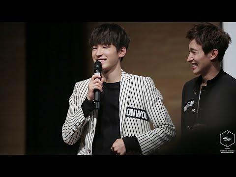 20151024 청량리 팬싸인회  - 세븐틴 원우 (SEVENTEEN WONWOO) 잔망타임 짜집기 직캠