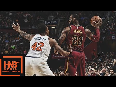 Cleveland Cavaliers vs New York Knicks 1st Half Highlights / April 11 / 2017-18 NBA Season