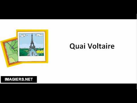 Streets of Paris # Quai Voltaire