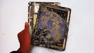 Restoration 9 year old APPLE IPAD tablet destroyed | Rebuilt the tablet | Restore the tablet