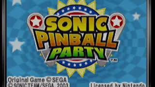 Sonic Spinball Party - Arcade Mode [GBA Gameplay]