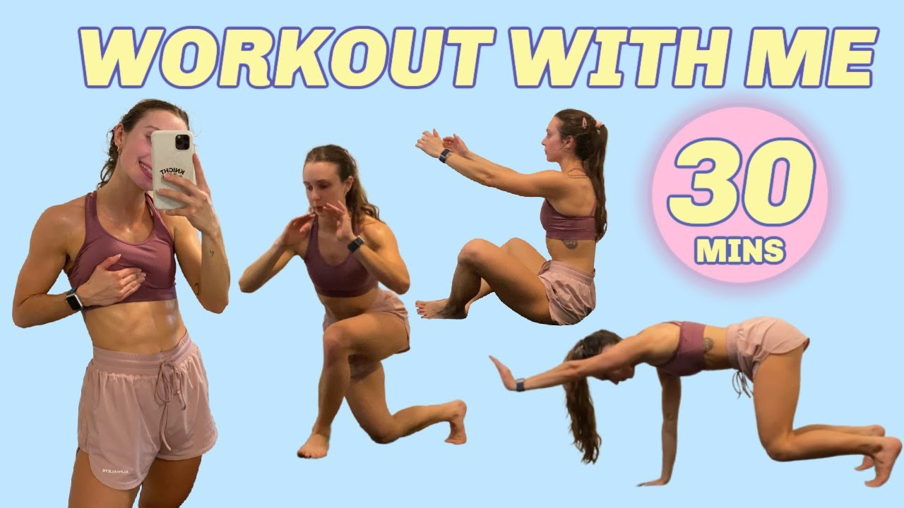 REAL TIME FULL BODY WORKOUT | hiit at home, no equipment