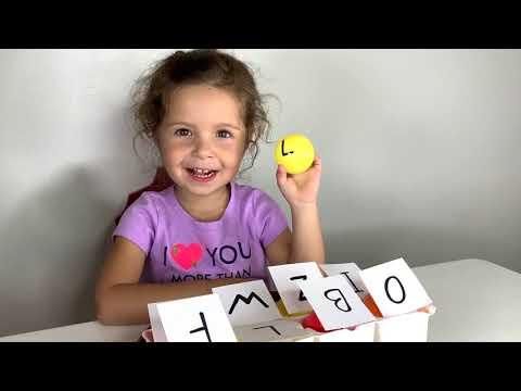 ⭐ DIY Activities for Kids -  Hands on Alphabet Games