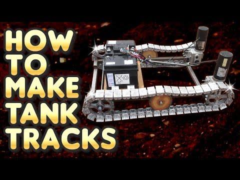 How to MAKE Caterpillar Tracks by VegOilGuy