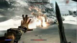 Skyrim Ultra High Settings PC Gameplay 1080p HD - The Frost Troll