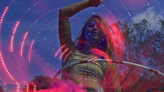 �������� ���� Psychedelic Trance mix November 2018 [ Fire Poi/Hula Hoops] ������