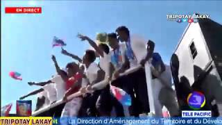 Men kòman anbyans lan te ye nan Lari P-AU-P pou resevwa seleksyon Haitienne nan ak Mizik Fanfa