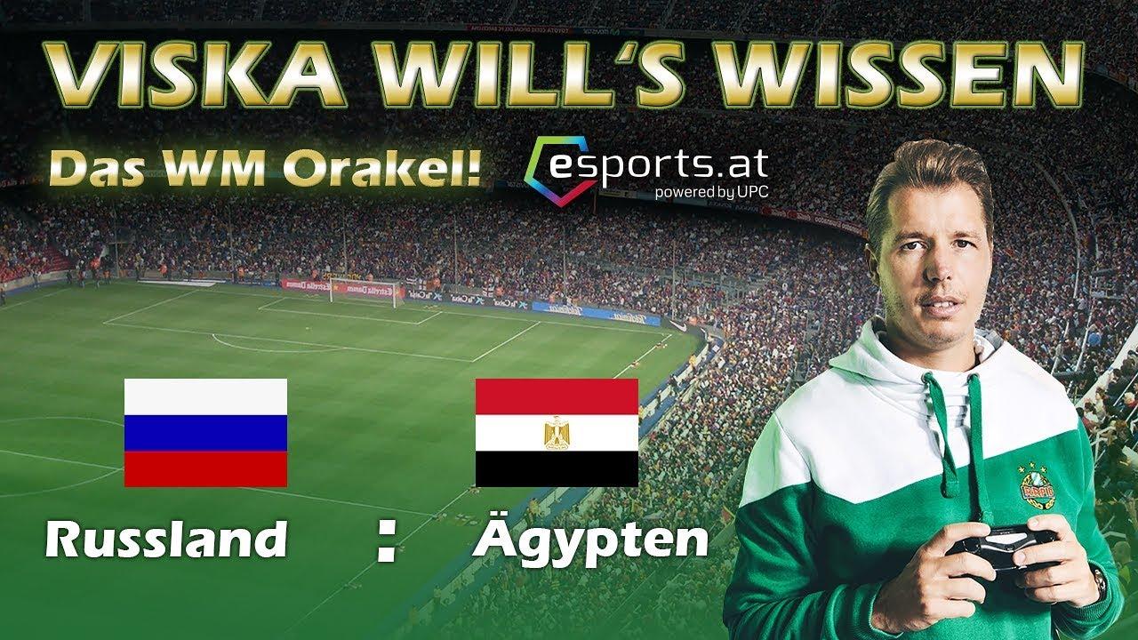 FIFA 18: WORLD CUP RUSSIA WM ORAKEL  | RUSSLAND VS ÄGYPTENf | MARIO VISKA