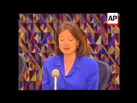 COSTA RICA: JENNIFER HARBURY PRESS CONFERENCE