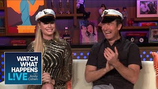 Rebecca Romijn And Jerry O'Connell On #BelowDeck Drama | Below Deck | WWHL