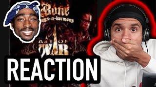 Download lagu Bone Thugs-N-Harmony ft Tupac - Thug Luv | REACTION! TUPAC!!!