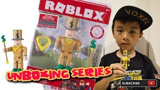 ROBLOX INDONESIA | Unboxing Roblox Toy and Redeem Virtual Item Code