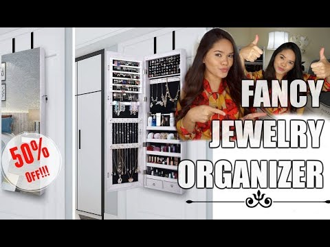 THE BEST JEWELRY ORGANIZER. | AOOU Jewelry Organizer.