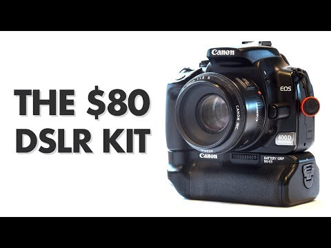 The $80 DSLR Kit (camera + lens) – Review