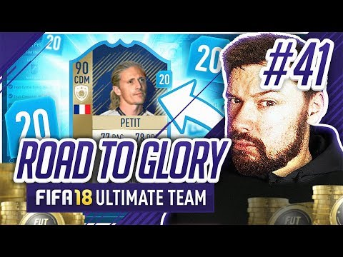 PRIME ICON PETIT!! - #FIFA18 Road to Glory! #41 Ultimate Team