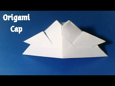 কাগজের টুপি || How to make a paper cap (Origami) || Tutorial #161