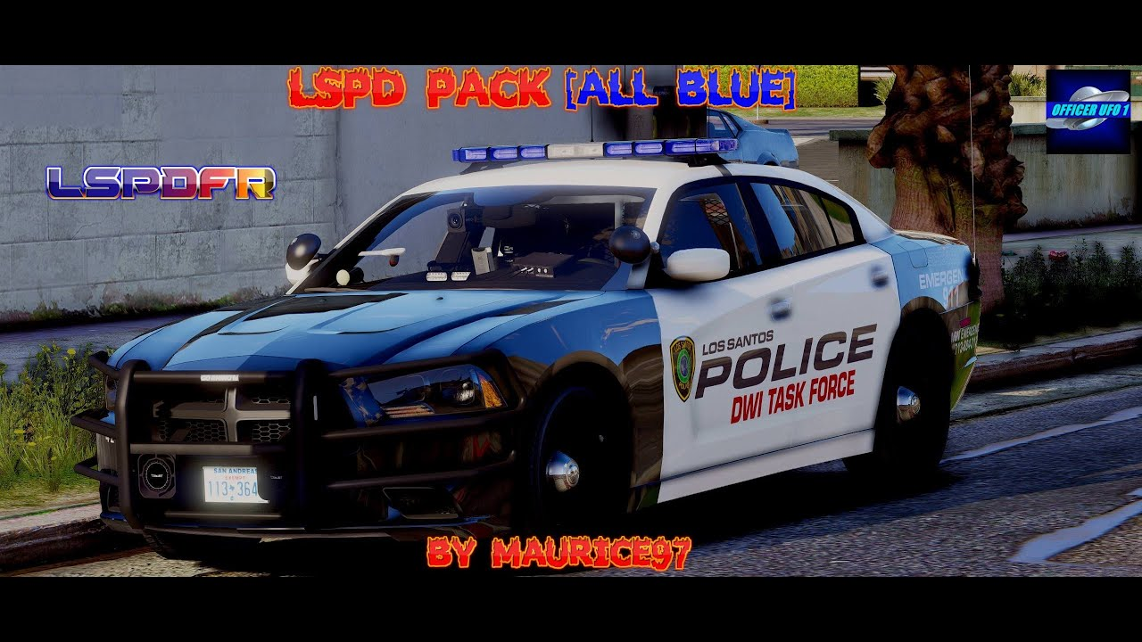 LSPDFR ft  LSPD Vehicle Pack [All Blue] by Maurice97