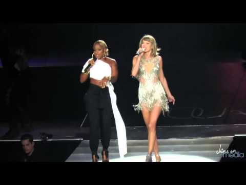 Taylor Swift & Mary J Blige  Family Affair  82215  Los Angeles CA  HD