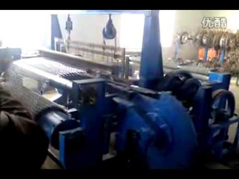 Станок для производства канилированной сетки