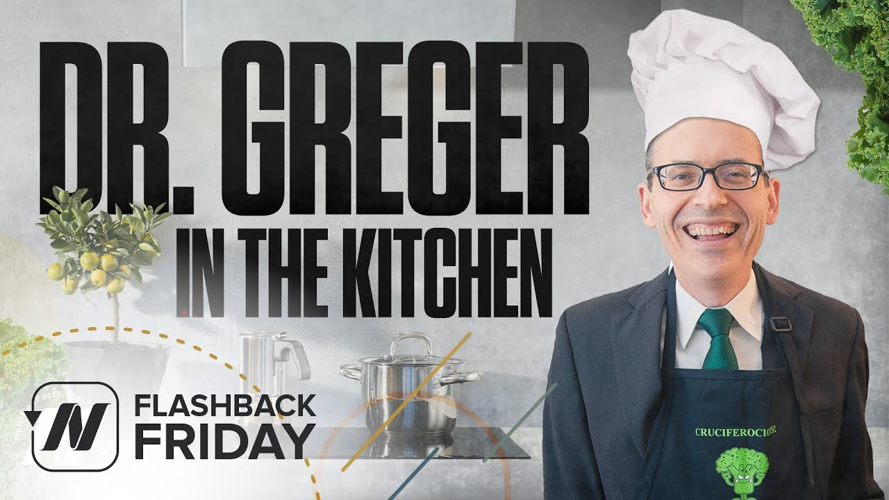 Flashback Friday: Dr. Greger in the Kitchen - My New Favorite Dessert