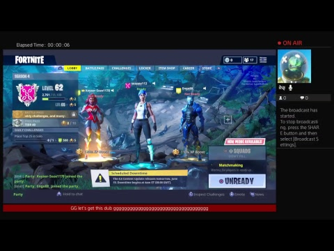 soappy112s Live PS4 Broadcast