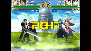 DDDF Request: Final Fantasy vs. SAO Protagonists