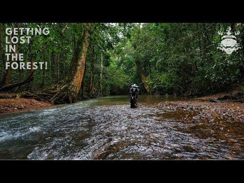 Kanoor/Devkar waterfalls - Getting lost in the forest - Uttara Kannada Ride - Vlog 5