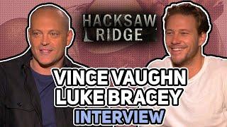"ES Archive ""Hacksaw Ridge"" Vince Vaughn & Luke Bracey interview"