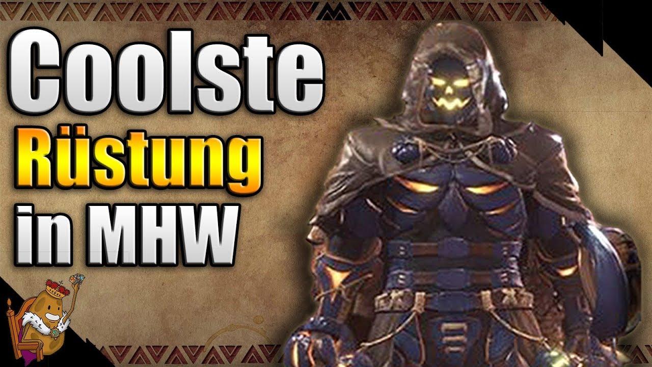 Monster Hunter World Die Coolste Rüstung In Mhw Herbstfest