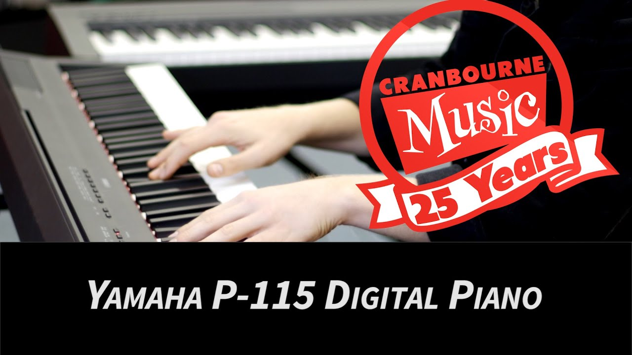 yamaha p 115 digital stage piano youtube. Black Bedroom Furniture Sets. Home Design Ideas