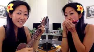 Day 43: Love Me Do - Beatles ukulele and harmonica cover // #100DaysofUkuleleSongs