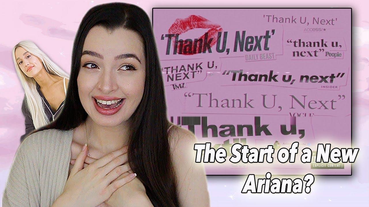 Thank You, Next~ Ariana Grande New Single Reaction - YouTube - photo#20