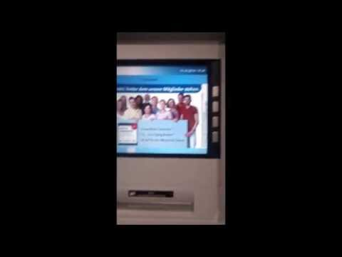 €90 withdrawal from ATM/Bankomat machine in Berlin, Germany
