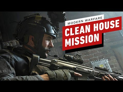 "Call of Duty: Modern Warfare ""Clean House"" Mission Gameplay (4K 60FPS)"