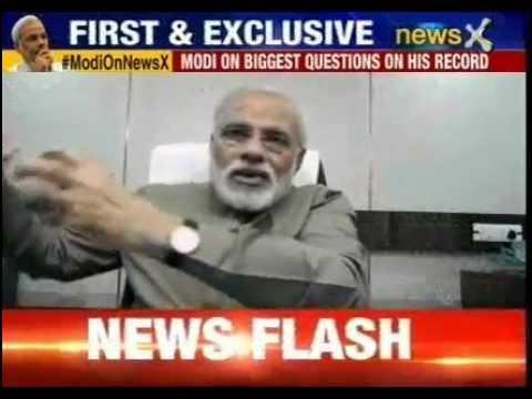 Narendra Modi biggest interview: Modi's historic revelations
