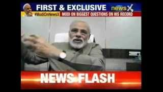 Narendra Modi biggest interview: Modi