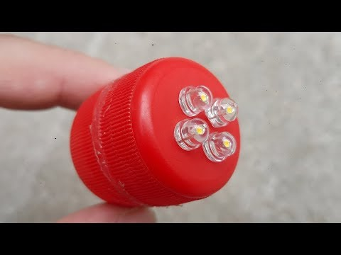 How To Make A Mini Led Light Box Rechargeable Using 9 Volt Battery | DIY Homemade Pocket Led Light