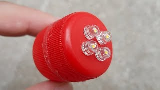 How to Make a Mini Led Light Box Rechargeable Using 9 Volt Battery   DIY Homemade Pocket Led Light