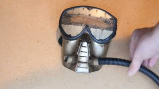 Building a steamtech gas mask