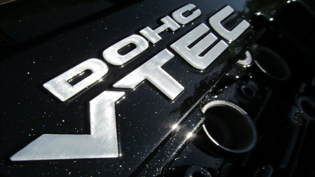 honda black sparkle painted vtec rocker valve cam engine cover b16 b18 civic integra crx type r