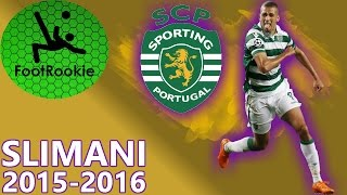 Islam Slimani • 2015-2016 • All 27 League Goals