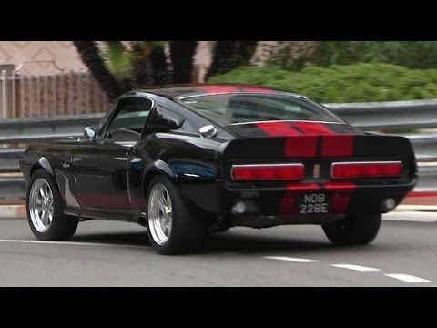 625HP Shelby GT500 Eleanor in Monaco | THE ULTIMATE MUSCLECAR!