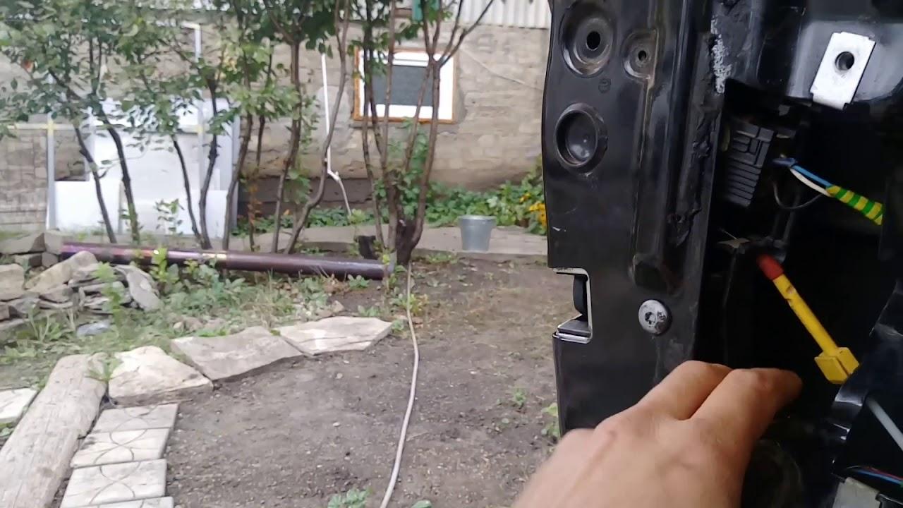 БМВ Е39  не открывается дверь, не работают стеклоподъемники.