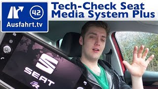 Tech-Check: Seat Media System Plus Infotainment-System